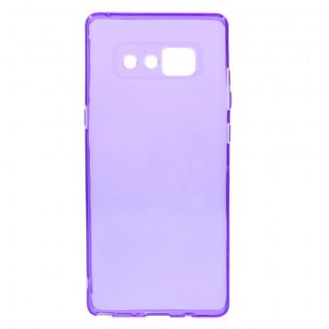 TPU géles védőtok Samsung Galaxy Note 8 készülékekhez – lila