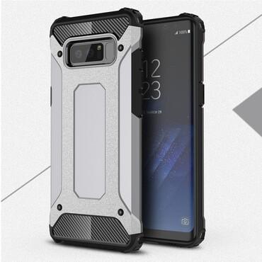 """Strapabíró """"Rock"""" védőtok Samsung Galaxy Note 8 készülékekhez – szürke"""