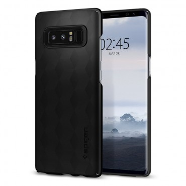 """Spigen """"Thin Fit"""" védőtok Samsung Galaxy Note 8 készülékhez – matte black"""