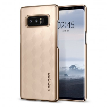 """Tok Spigen """"Thin Fit"""" Samsung Galaxy Note 8 készülékekhez - gold maple"""