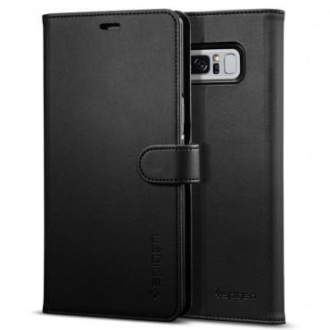 """Spigen """"Wallet S"""" tárca Samsung Galaxy Note 8 készülékekhez – fekete"""