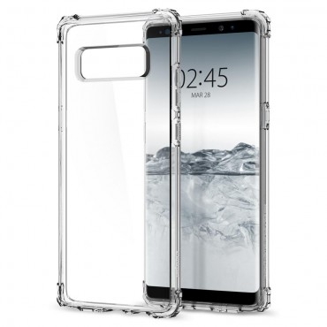 """Spigen """"Crystal Shell"""" védőtok Samsung Galaxy Note 8 készülékhez – clear crystal"""