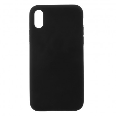 TPU géles védőtok iPhone X készülékekhez – fekete