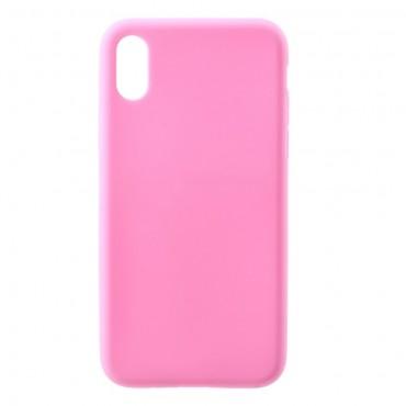 TPU géles védőtok iPhone X / XS készülékekhez – rózsaszín