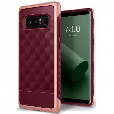 Caseology Parallax Series védőtok Samsung Galaxy Note 8 készülékekhez – burgundy