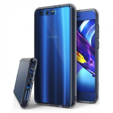"""Ringke """"Fusion"""" védőtok Huawei Honor 9 / Honor 9 Premium készülékekhez – smoke black"""
