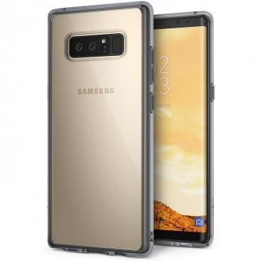 """Ringke """"Fusion"""" védőtok Samsung Galaxy Note 8 készülékekhez - smoke black"""