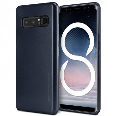 Goospery iJelly Case TPU géles védőtok Samsung Galaxy Note 8 készülékekhez – fekete