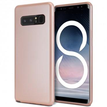 Goospery iJelly Case TPU géles védőtok Samsung Galaxy Note 8 készülékekhez – rózsaszín