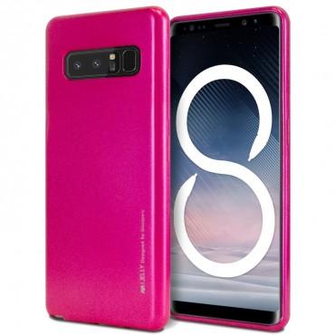 Goospery iJelly Case TPU géles védőtok Samsung Galaxy Note 8 készülékekhez – magenta