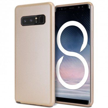 Goospery iJelly Case TPU géles védőtok Samsung Galaxy Note 8 készülékekhez – aranyszínű