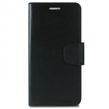 Elegáns Goospery Sonata tárca Samsung Galaxy Note 8 készülékekhez – fekete