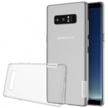 """Vékony """"Nature"""" prémium védőtok Samsung Galaxy Note 8 készülékekhez - átlátszó"""