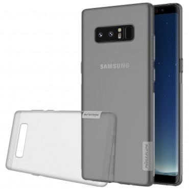 """Vékony """"Nature"""" prémium védőtok Samsung Galaxy Note 8 készülékekhez – szürke"""