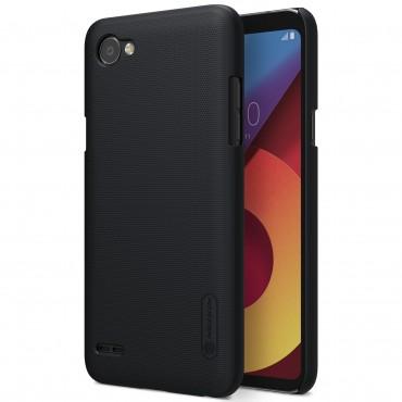 Super Frosted Shield prémium védőtok LG Q6 készülékekhez – fekete