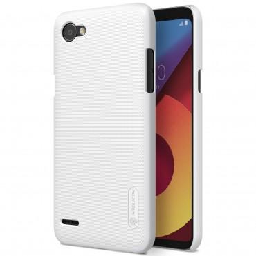 Super Frosted Shield prémium védőtok LG Q6 készülékekhez – fehér