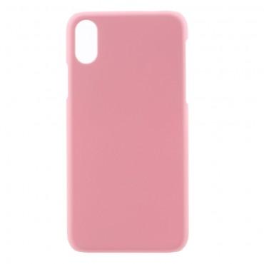 Kemény TPU védőtok iPhone X / XS készülékekhez – rózsaszín