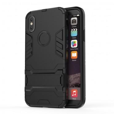 """Strapabíró """"Impact X"""" védőtok iPhone X / XS készülékekhez – fekete"""