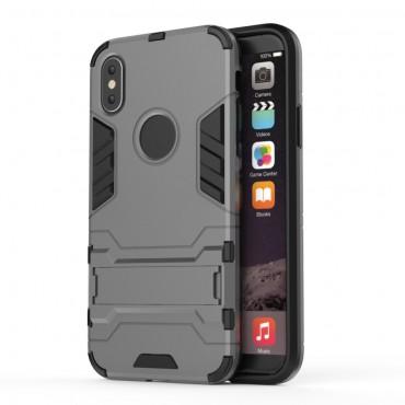 """Strapabíró tok """"Impact X"""" iPhone X / XS készülékekhez - szürke"""