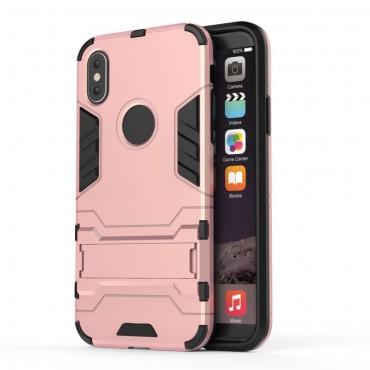"""Strapabíró """"Impact X"""" védőtok iPhone X / XS készülékekhez – rózsaszín"""