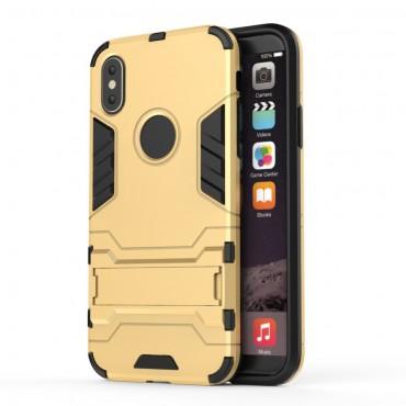 """Strapabíró """"Impact X"""" védőtok iPhone X / XS készülékekhez – aranyszínű"""