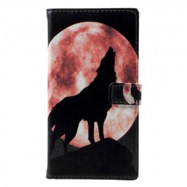 """Divatos """"Howling Wolf"""" tárca LG Q6 készülékekhez"""