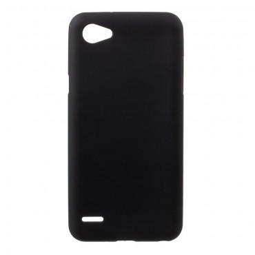 TPU gél tok LG Q6 készülékekhez - fekete