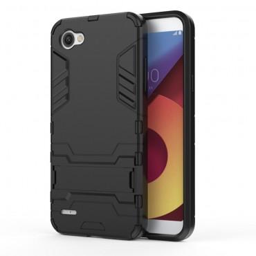 """Strapabíró """"Impact X"""" védőtok LG Q6 készülékekhez – fekete"""