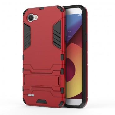 """Strapabíró """"Impact X"""" védőtok LG Q6 készülékekhez – piros"""