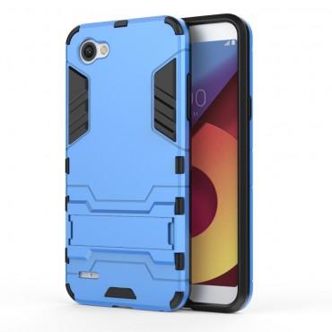 """Strapabíró """"Impact X"""" védőtok LG Q6 készülékekhez – kék"""