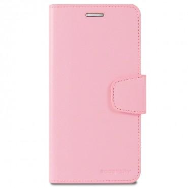 Elegáns Goospery Sonata tárca iPhone X / XS készülékekhez – rózsaszín