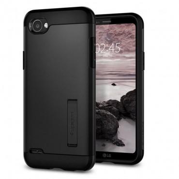 """Spigen """"Slim Armor"""" védőtok LG Q6 készülékekhez – black"""