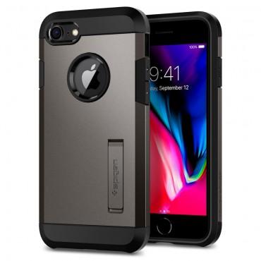 """Spigen """"Tough Armor"""" védőtok iPhone 8 készülékekhez – gunmetal"""