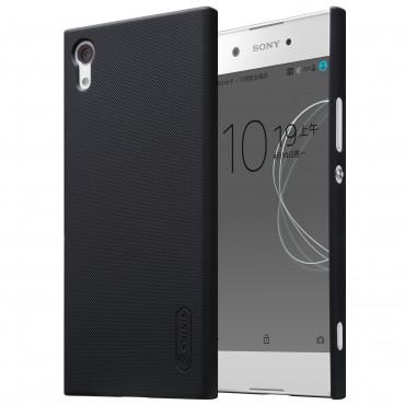 Super Frosted Shield prémium védőtok Sony Xperia XA1 készülékekhez – fekete