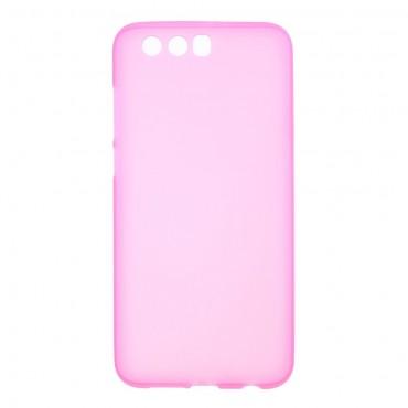 TPU géles védőtok Huawei Honor 9 / Honor 9 Premium készülékekhez – rózsaszín