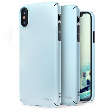 """Tok Ringke """"Slim"""" iPhone X készülékekhez - sky blue"""