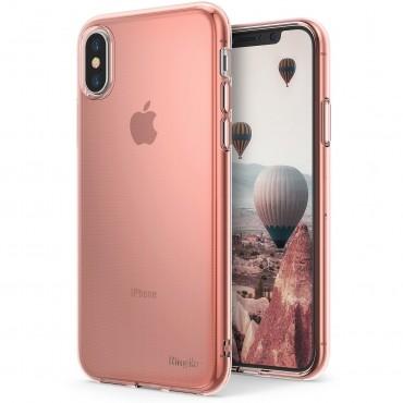 """Tok Ringke """"Air"""" iPhone X készülékekhez - rose gold"""