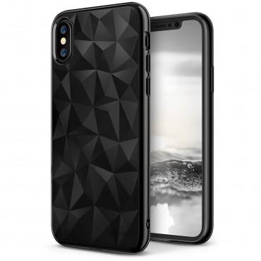 "Ringke ""Air Prism"" borító iPhone X telefonokhoz - ink black"