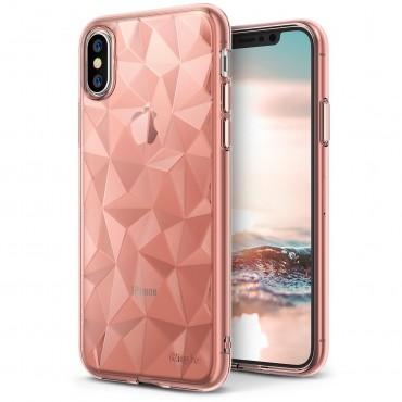 """Tok Ringke """"Air Prism"""" iPhone X készülékekhez - rose gold"""