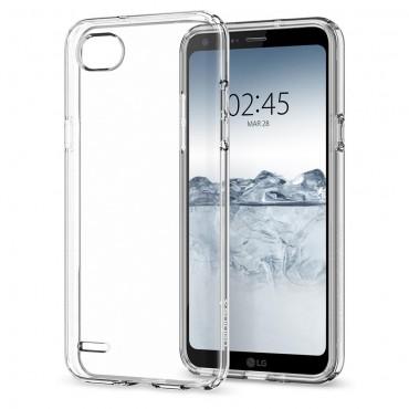 """Spigen """"Liquid Crystal"""" védőtok LG Q6 készülékekhez"""