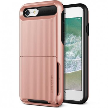 "VRS Design ""Damda Folder"" védőtok iPhone 8 / iPhone 7 készülékekhez – rose gold"