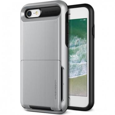 "VRS Design ""Damda Folder"" védőtok iPhone 8 / iPhone 7 készülékekhez – silver"