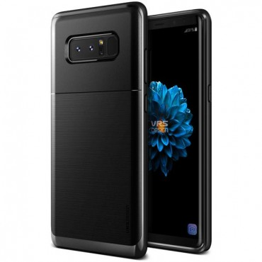 """VRS Design """"High Pro Shield"""" védőtok Samsung Galaxy Note 8 készülékekhez – metal black"""