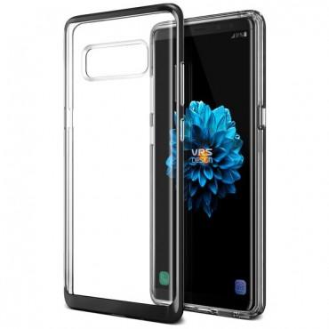 """VRS Design """"Crystal Bumper"""" védőtok Samsung Galaxy Note 8 készülékekhez – metal black"""