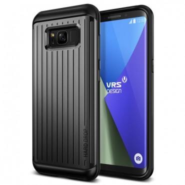 """VRS Design """"Thor"""" védőtok Samsung Galaxy S8 készülékekhez – waved dark silver"""