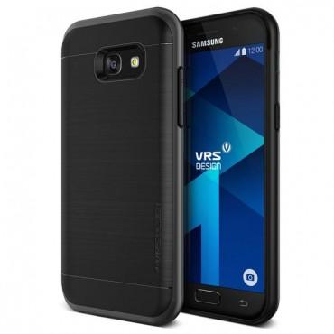 """VRS Design """"High Pro Shield"""" védőtok Samsung Galaxy A5 2017 készülékekhez – steel silver"""