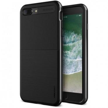 """VRS Design """"High Pro Shield"""" védőtok iPhone 8 Plus készülékekhez – metal black"""