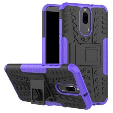 """Hibrid TPU géles """"Tough"""" védőtok Huawei Mate 10 Lite készülékekhez – lila"""