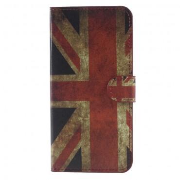 """Divatos """"Retro UK"""" tárca Huawei Mate 10 Lite készülékekhez"""