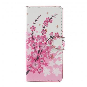 """Divatos """"Flower Bloom"""" tárca Huawei Mate 10 Lite készülékekhez"""
